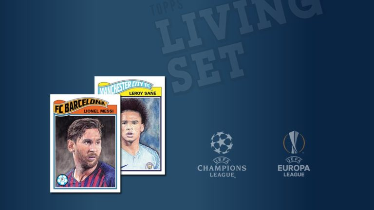 TOPPS Living Set UEFA Champions League Trading Cards