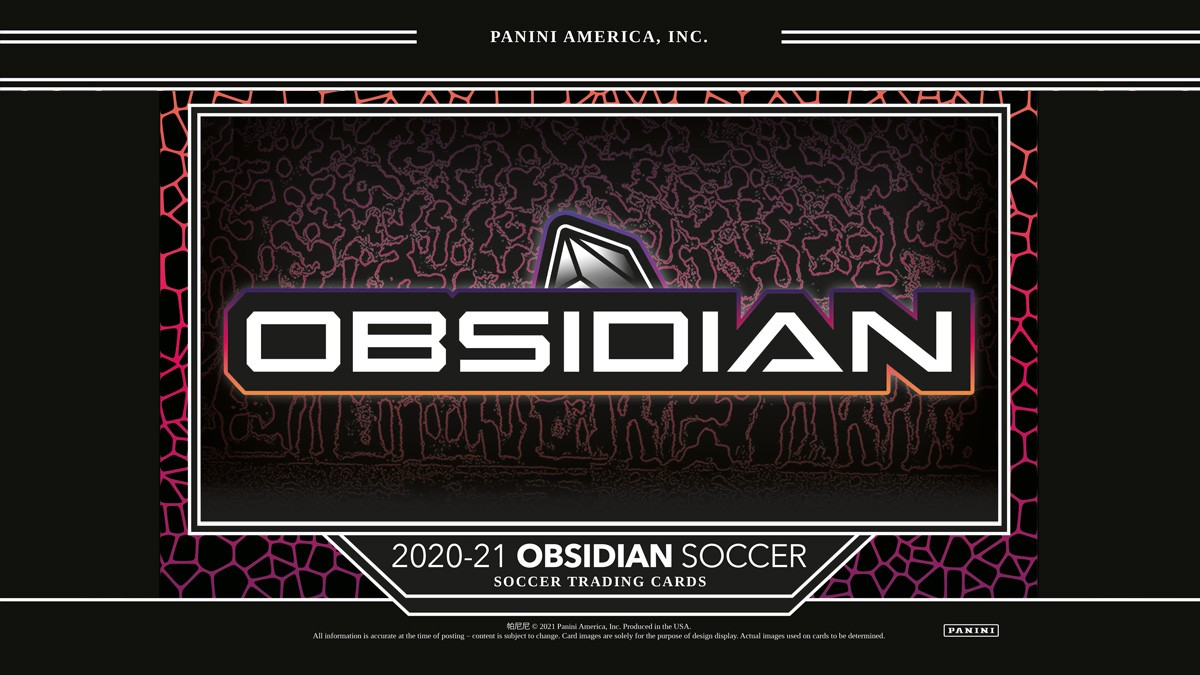 2020-21 PANINI Obsidian Soccer - Header