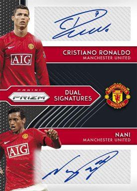 2020-21 PANINI PRIZM Premier League Soccer - Dual Signatures Autograph Card