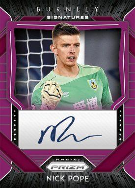 2020-21 PANINI PRIZM Premier League Soccer - Signatures Autograph Card