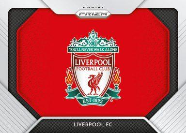2020-21 PANINI PRIZM Premier League Soccer - Team Logos Insert Card