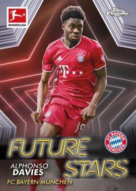 2020-21 TOPPS Chrome Bundesliga Soccer - Future Stars Insert Card