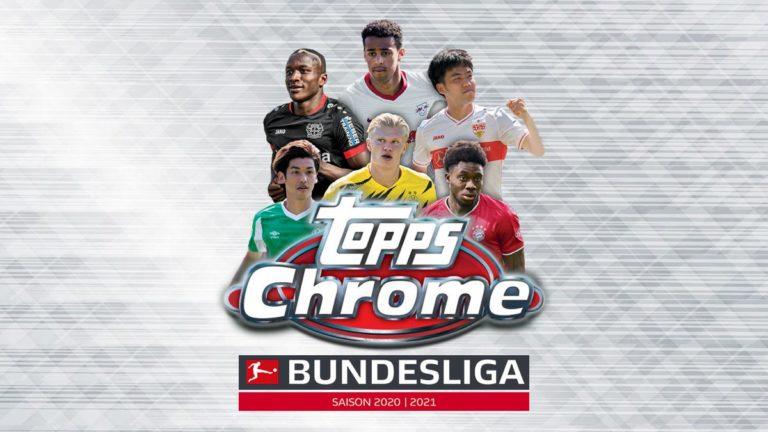 2020-21 TOPPS Chrome Bundesliga Soccer Cards