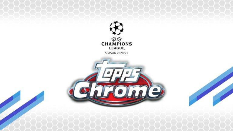 2020-21 TOPPS Chrome UEFA Champions League Soccer Cards