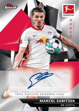 2020-21 TOPPS Finest Bundesliga Soccer - Base Autograph Card