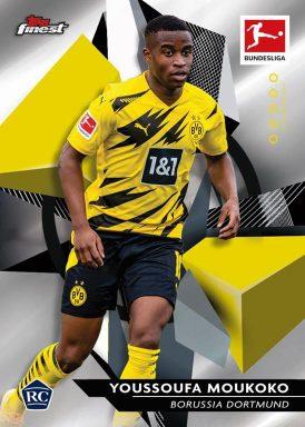 2020-21 TOPPS Finest Bundesliga Soccer - Base Card