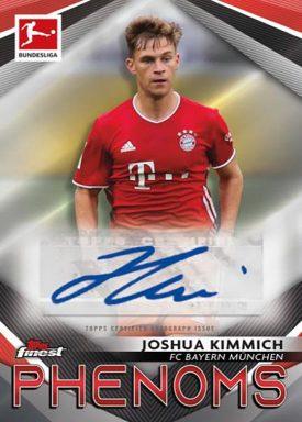 2020-21 TOPPS Finest Bundesliga Soccer - Finest Phenoms Autograph Card