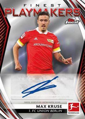 2020-21 TOPPS Finest Bundesliga Soccer - Finest Playmaker Autograph Card