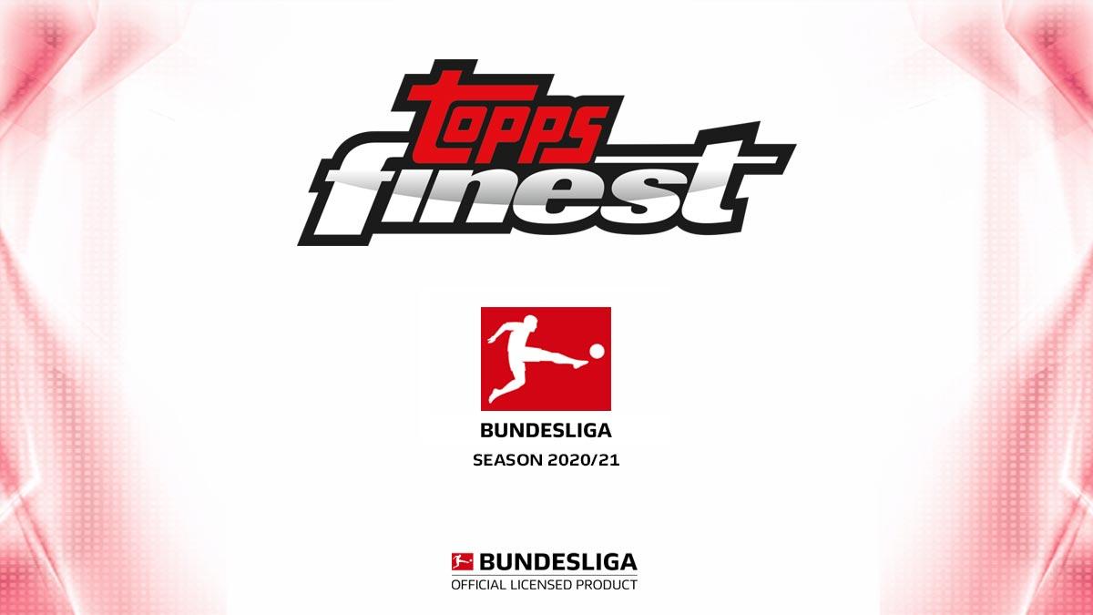 2020-21 TOPPS Finest Bundesliga Soccer Cards - Header