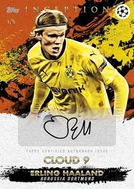 2020-21 TOPPS Inception UEFA Champions League Soccer - Autograph Card