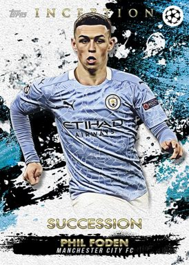 2020-21 TOPPS Inception UEFA Champions League Soccer - Base Card