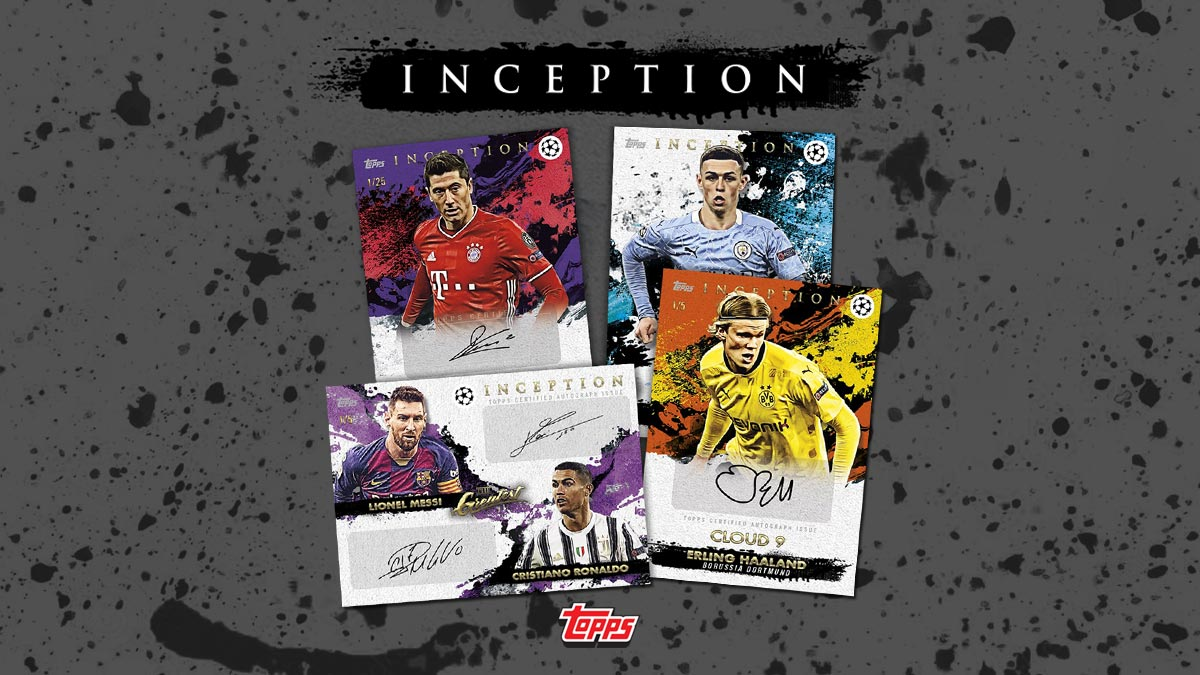 2020-21 TOPPS Inception UEFA Champions League Soccer - Header