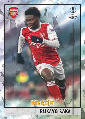 2020-21 TOPPS Merlin Chrome UEFA Champions League Soccer - Base Card