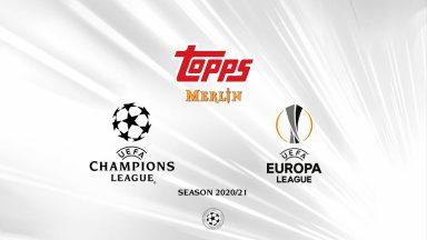 2020-21 TOPPS Merlin Chrome UEFA Champions League Soccer Cards