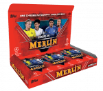 2020-21 TOPPS Merlin Chrome UEFA Champions League Soccer - Hobby Box