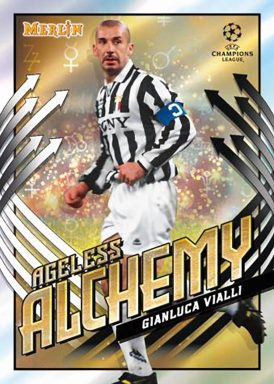 2020-21 TOPPS Merlin Chrome UEFA Champions League Soccer - Ageless Alchemy Insert Card