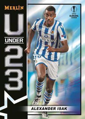 2020-21 TOPPS Merlin Chrome UEFA Champions League Soccer - U23 Stars Insert Card