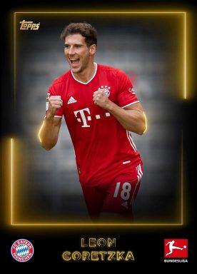 2020-21 TOPPS NFT Bundesliga Season Celebration - Gold Base Player