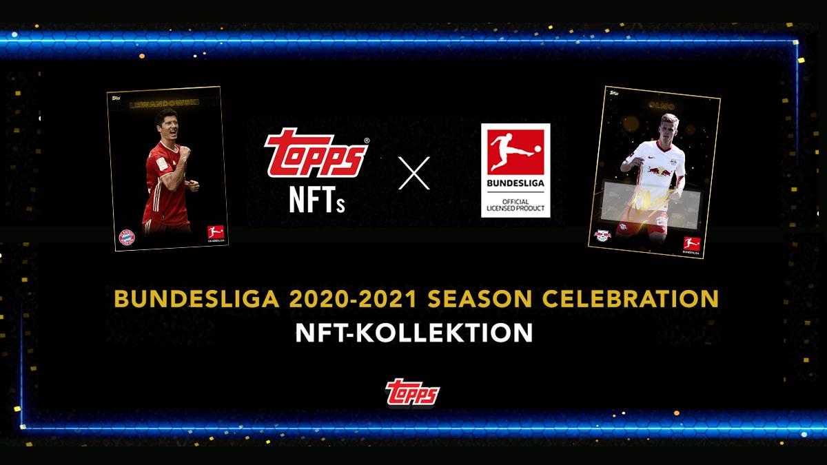2020-21 TOPPS NFT Bundesliga Season Celebration - Header