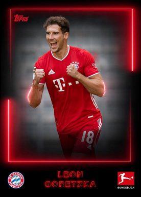 2020-21 TOPPS NFT Bundesliga Season Celebration - Team Color Base Player