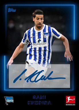 2020-21 TOPPS NFT Bundesliga Season Celebration - Team Color Base Players Signature