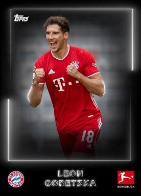 2020-21 TOPPS NFT Bundesliga Season Celebration - White Base Player