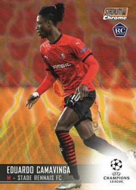 TOPPS Stadium Club Chrome UEFA Champions League Soccer - Base Card Parallel