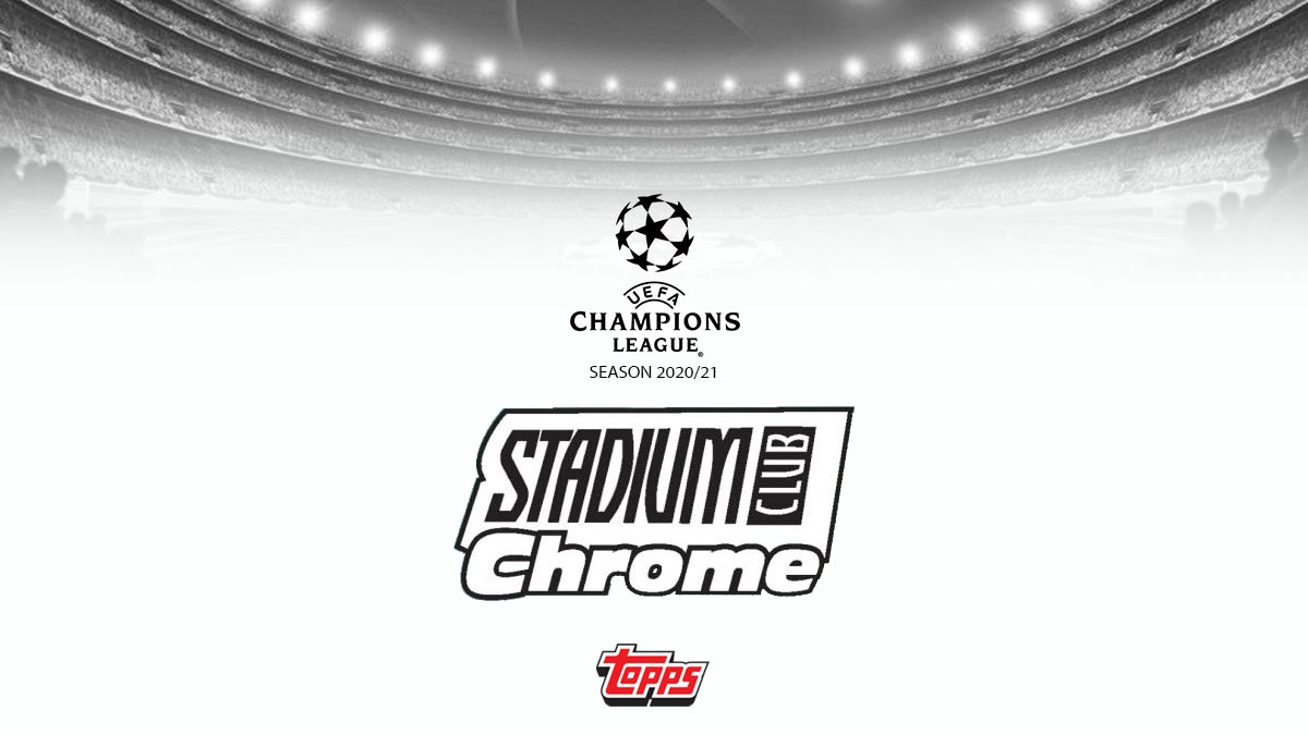 TOPPS Stadium Club Chrome UEFA Champions League Soccer - Header