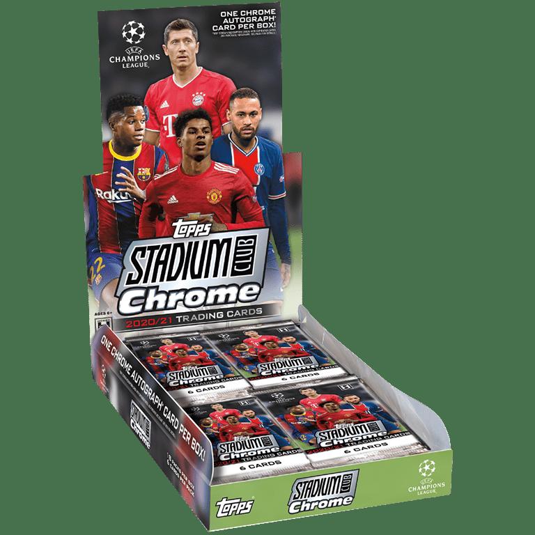 TOPPS Stadium Club Chrome UEFA Champions League Soccer - Hobby Box