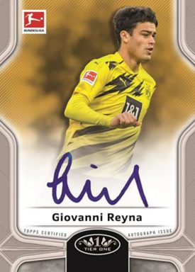 2020-21 TOPPS Tier One Bundesliga Soccer - Break Out Autograph Card