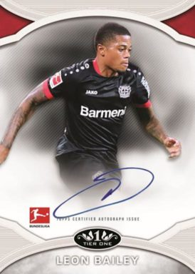 2020-21 TOPPS Tier One Bundesliga Soccer - Prime Performers Autograph Card