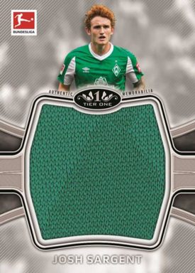 2020-21 TOPPS Tier One Bundesliga Soccer - Prodigious Patches Relic Card