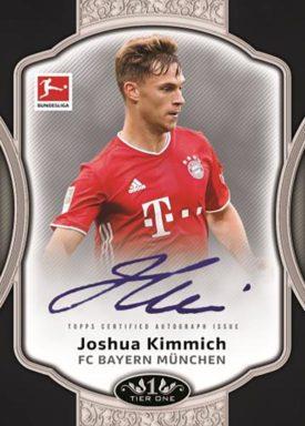 2020-21 TOPPS Tier One Bundesliga Soccer - Tier One Autograph Card