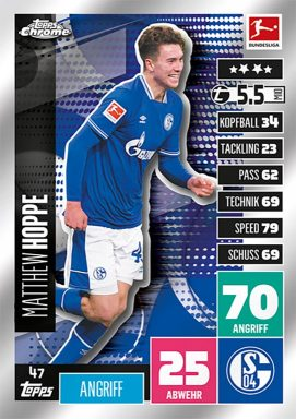TOPPS Bundesliga Match Attax Chrome 2020/21 - Base Card