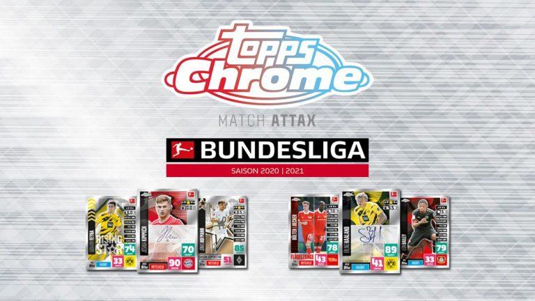 TOPPS Bundesliga Match Attax Chrome 2020/21 - Header