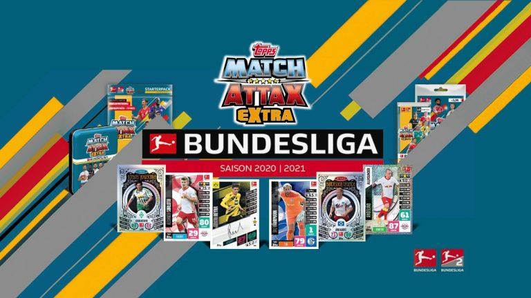 TOPPS Bundesliga Match Attax Extra 2020/21 - Header