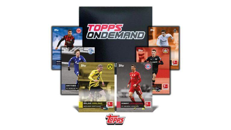 TOPPS On Demand Bundesliga Stars of the Season 2020/21 Soccer Cards