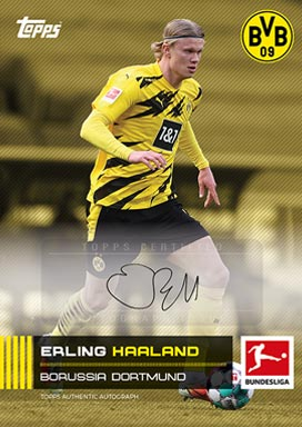 TOPPS On-Deman Bundesliga Stars of the Season 2020/21 - Autograph Card