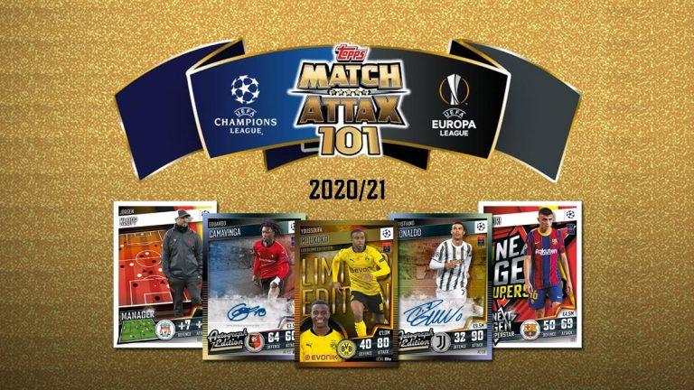 TOPPS Match Attax 101 2020/21 - Header