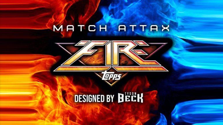 Topps Match Attax Fire Trading Cards - Header