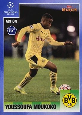 Topps Merlin 95 Heritage UEFA Champions League 2020/21 Soccer - Action Card