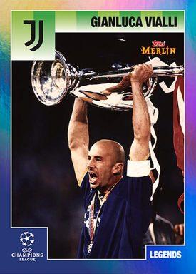 Topps Merlin 95 Heritage UEFA Champions League 2020/21 Soccer - Legend Card