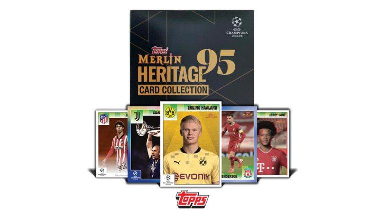 Topps Merlin 95 Heritage UEFA Champions League 2020/21 Soccer - Header