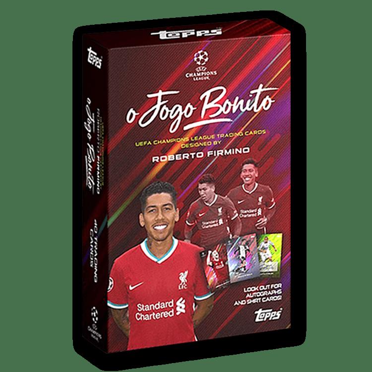 TOPPS O Jogo Bonito UEFA Champions League Soccer Cards - Box
