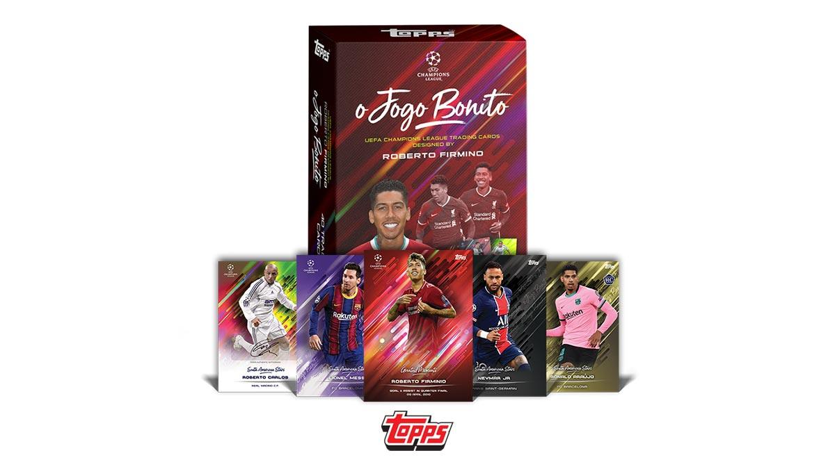 TOPPS O Jogo Bonito UEFA Champions League Soccer Cards - Header