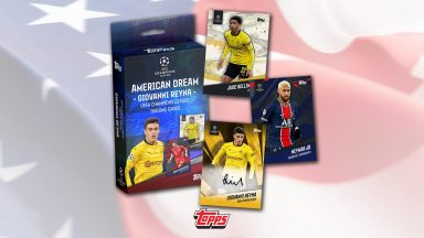 TOPPS The American Dream - Giovanni Reyna Curated Set - Header
