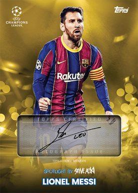 UEFA Champions League 2020/21 Football Festival by Steve Aoki Soccer - Autograph Card