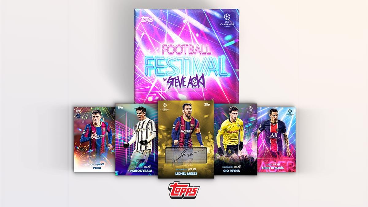 TOPPS On-Demand UEFA Champions League 2020/21 Football Festival by Steve Aoki Soccer Cards - Header
