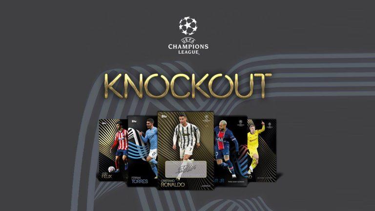 TOPPS On Demand UEFA Champions League 2020/21 Kockout Set - Header