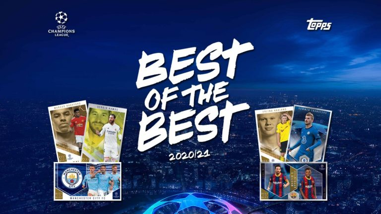 TOPPS UEFA Champions League Best of the Best 2020/21 Soccer Cards